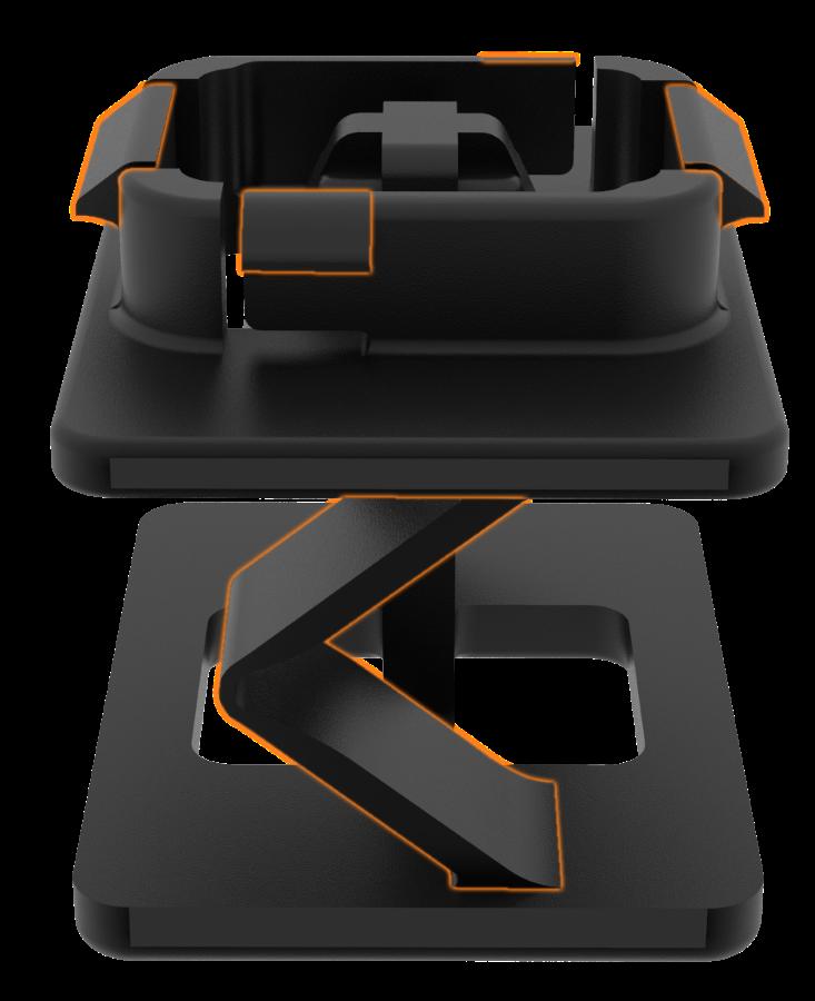 Nifco Accordion Clip Design